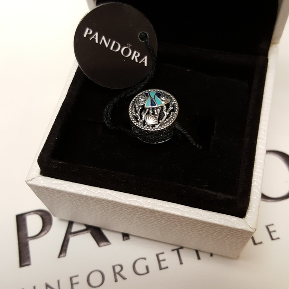 470fcf3c1 Pandora Jewelry   Ocean Life Charm Blue Enamel Fish Shell   Poshmark